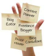 Write a Blog freelance writing home business