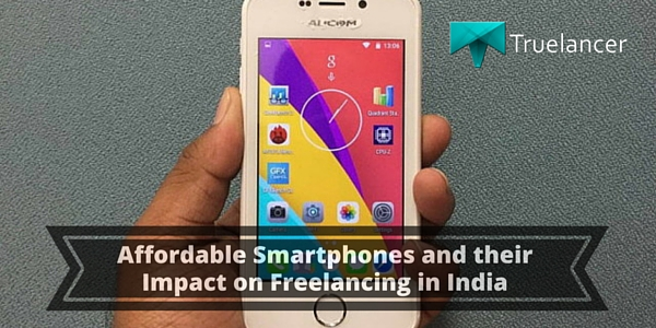 Affordable Smartphones and their Impact on Freelancing in India