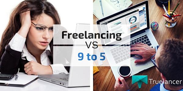 Freelancing vs 9 to 5 Jobs