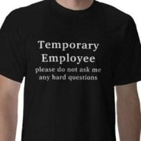 temporary freelancers contractors