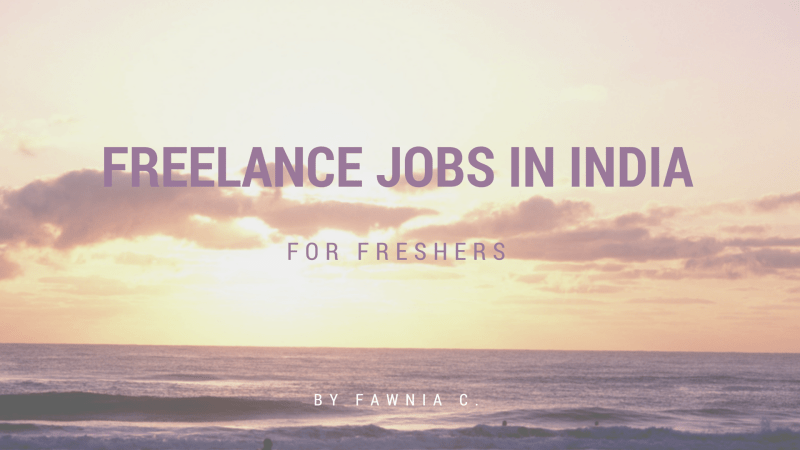 freelance jobs in India