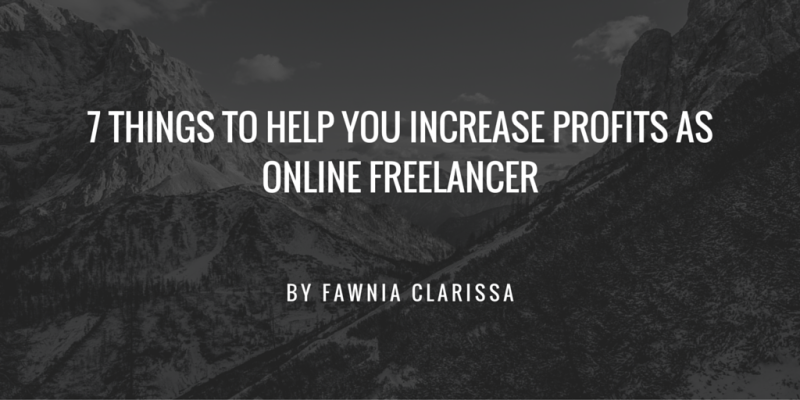 online freelancer