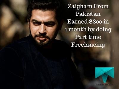 Zaigham Earning