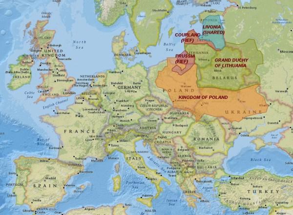 PolishLithuanian Commonwealth 15691795 True Lithuania