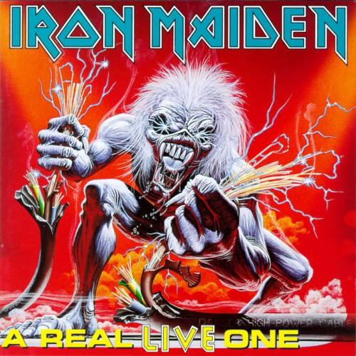 Risultati immagini per iron maiden a real live one