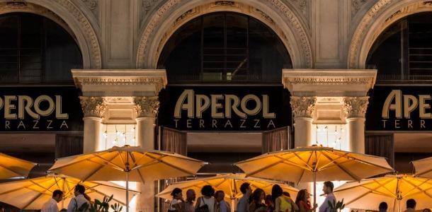 Terrazza Aperol A Paradise in Orange