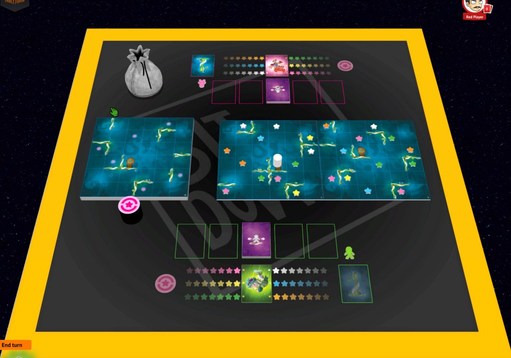 Tabletopia is an online board game platform.
