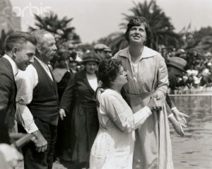 05 Aug 1922, Oakland, California, USA --- Oakland, California: Thousands Seek Healing At Baptismal Services. Mr --- Image by © Bettmann/CORBIS