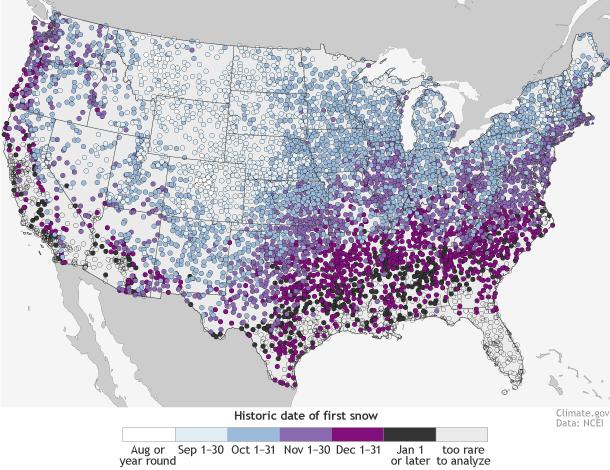 Winter Storm median first date