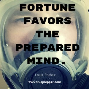 Fortune favors the prepared mind.