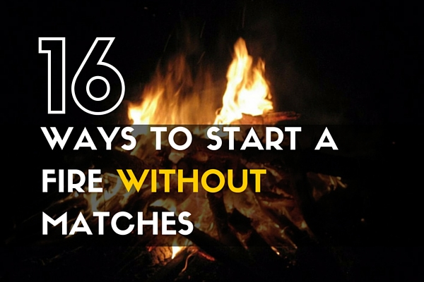 16 Ways to Start a Fire Without Matches