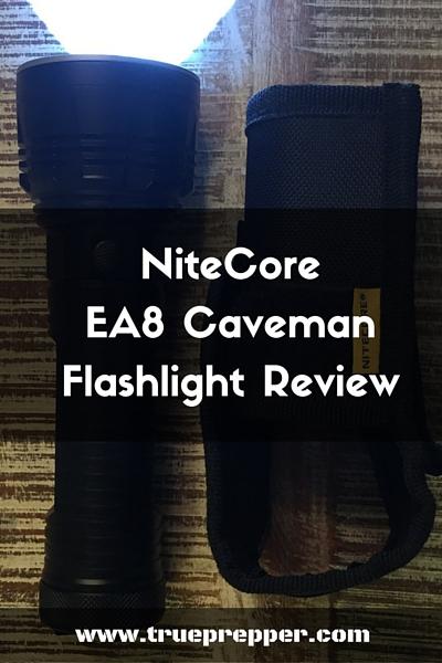 NiteCore Caveman Flashlight Review