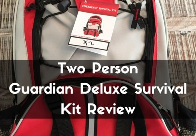 Two Person Guardian Deluxe Survival Kit Review