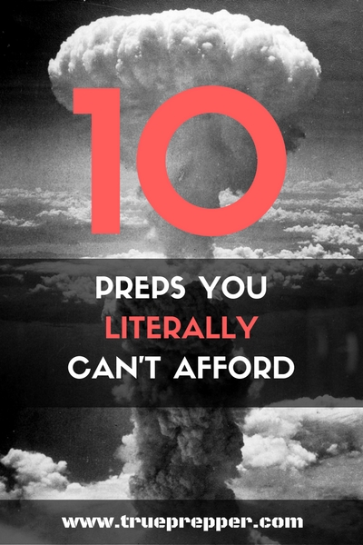 10 Preps You Literally Can't Afford