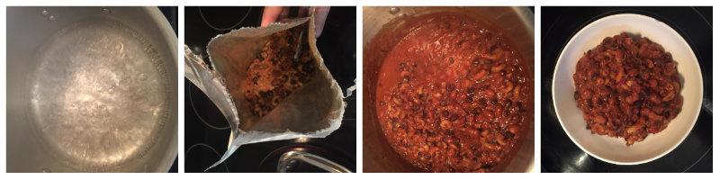 Cooking Chili Mac