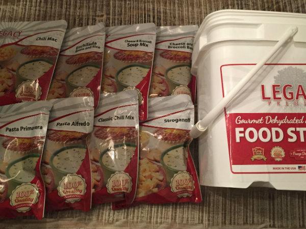 Legacy 72 Hour Emergency Food Kit