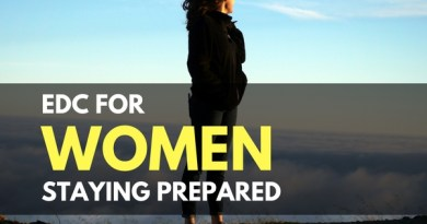 EDC for Women – Staying Prepared