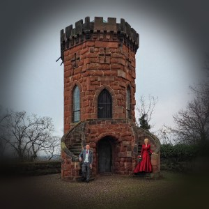 Laura's Tower at Shrewsbury Castle proved a fantastic area for some wedding photography