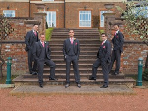 The Groomsmen at Carden Park Hotel