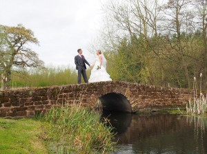 Some romantic wedding photography shots at Carden park