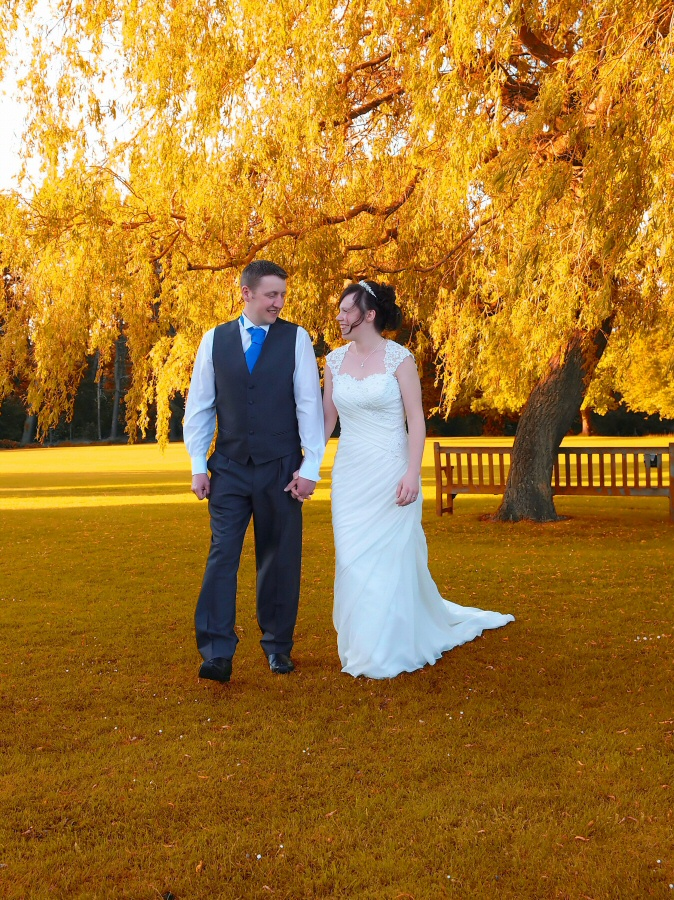 Beautiful colours in this stunning shot at Northop hall