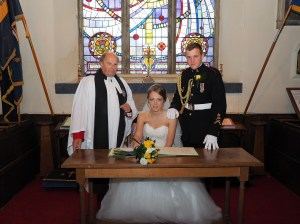 The new Mr & Mrs Roberts