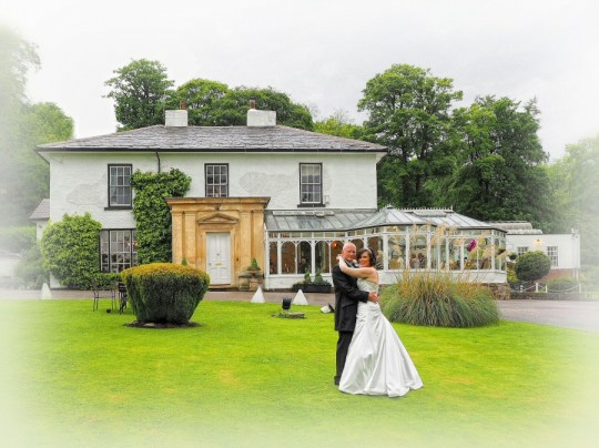 Great shot in the gardens at The Plas Hafod Hotel