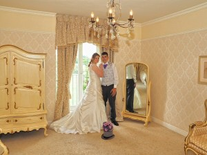 Another shot in the bridal suite