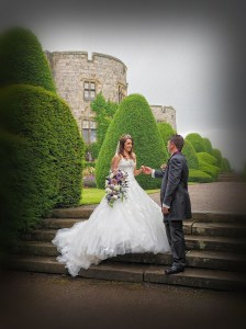 Romantic moments at The Castle