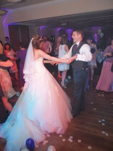 Dancing the night away with their family and friends