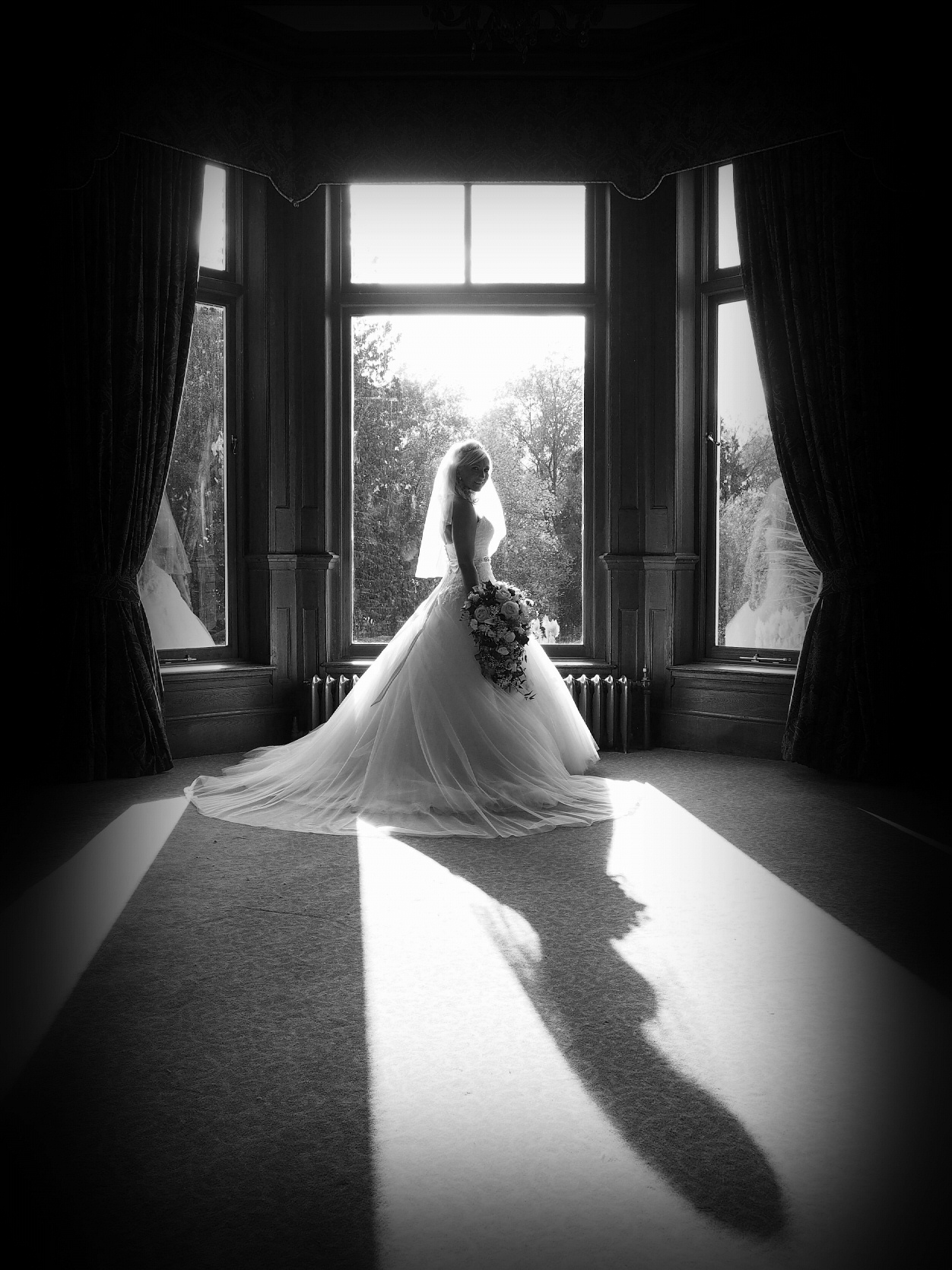 albrighton hall shrewsbury wedding photographer
