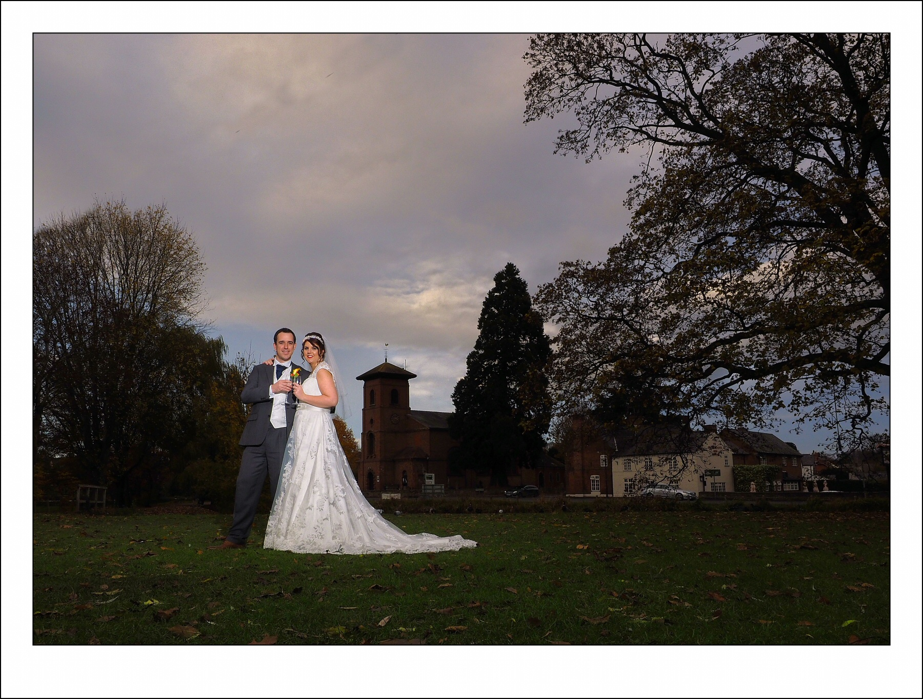 Stunning oswestry wedding photography