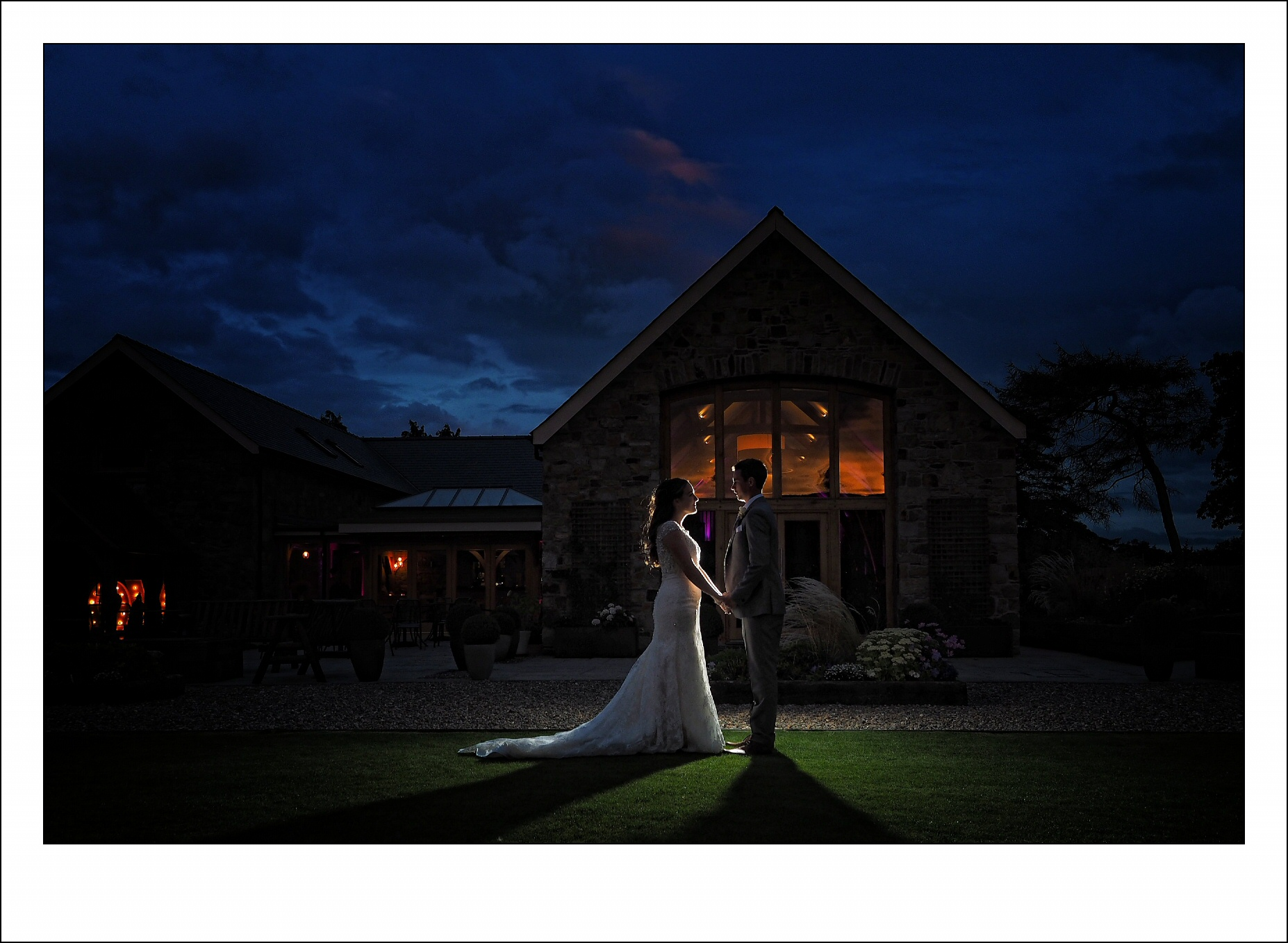 Stunning evening shots at tower hill barns