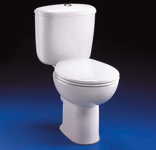 Close Coupled Toilet Push Cistern Fittings  Seat Ideal