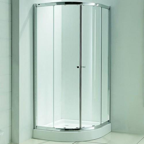 Quadrant Shower Enclosure 900mm Matrix Enclosures MBQ90 TrueRoomscom