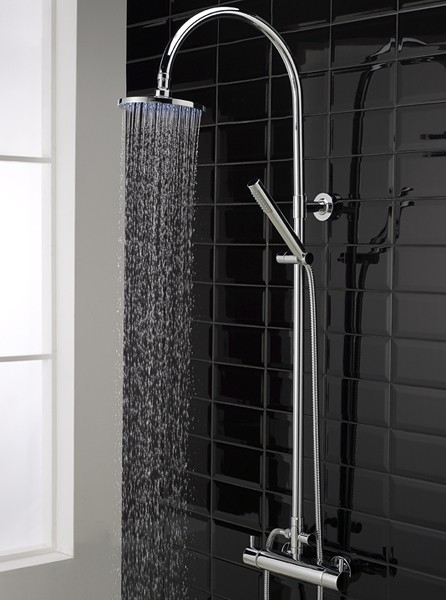 Thermostatic Bar Shower Valve Amp Eternity Riser Set Hudson