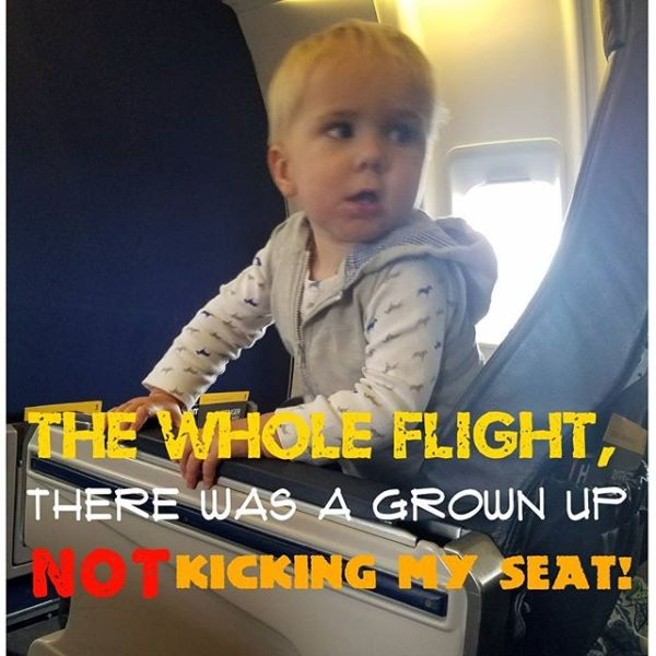 First class baby problems.