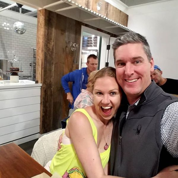 """Date night with the prettiest girl in Santa Barbara, @leahmariecurran .  Seeing if it's true what they say that @corazoncocinasb Is the """"best taco & ceviche in SB"""". They sure put in a strong showing!"""