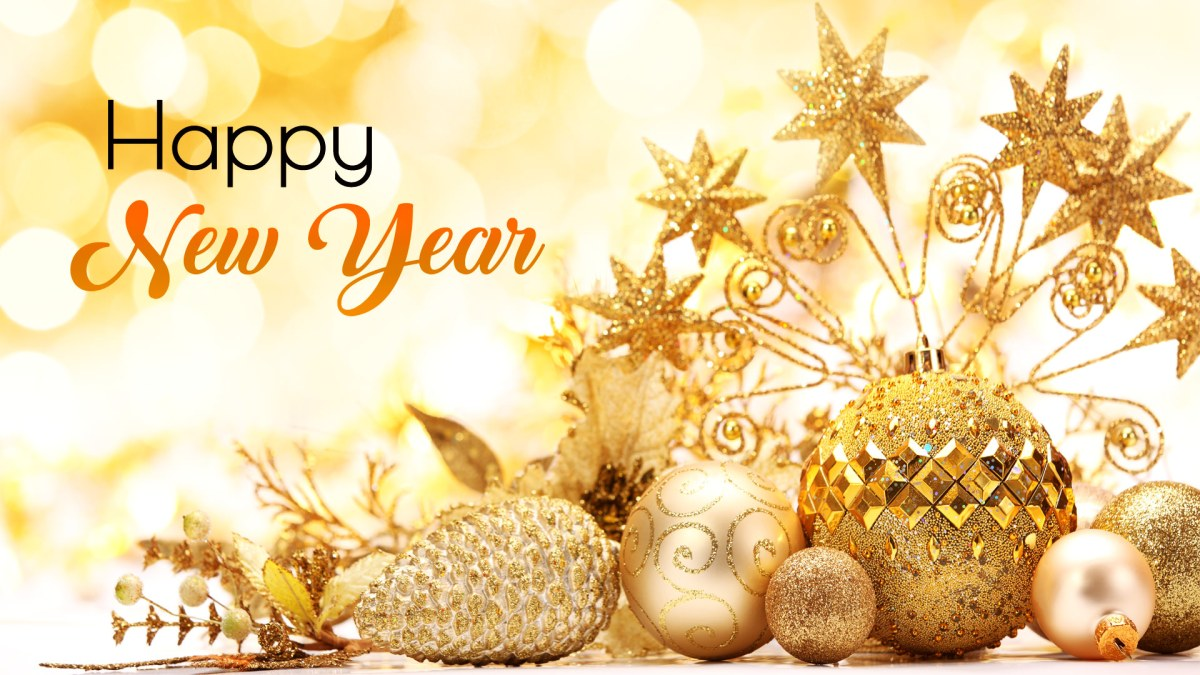 Happy New Year Wallpaper for Laptop