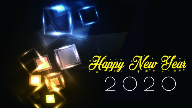 Lighting 2020 Happy New Year Wallpapers - Happy New Year 2020 Wallpaper, HD Greetings