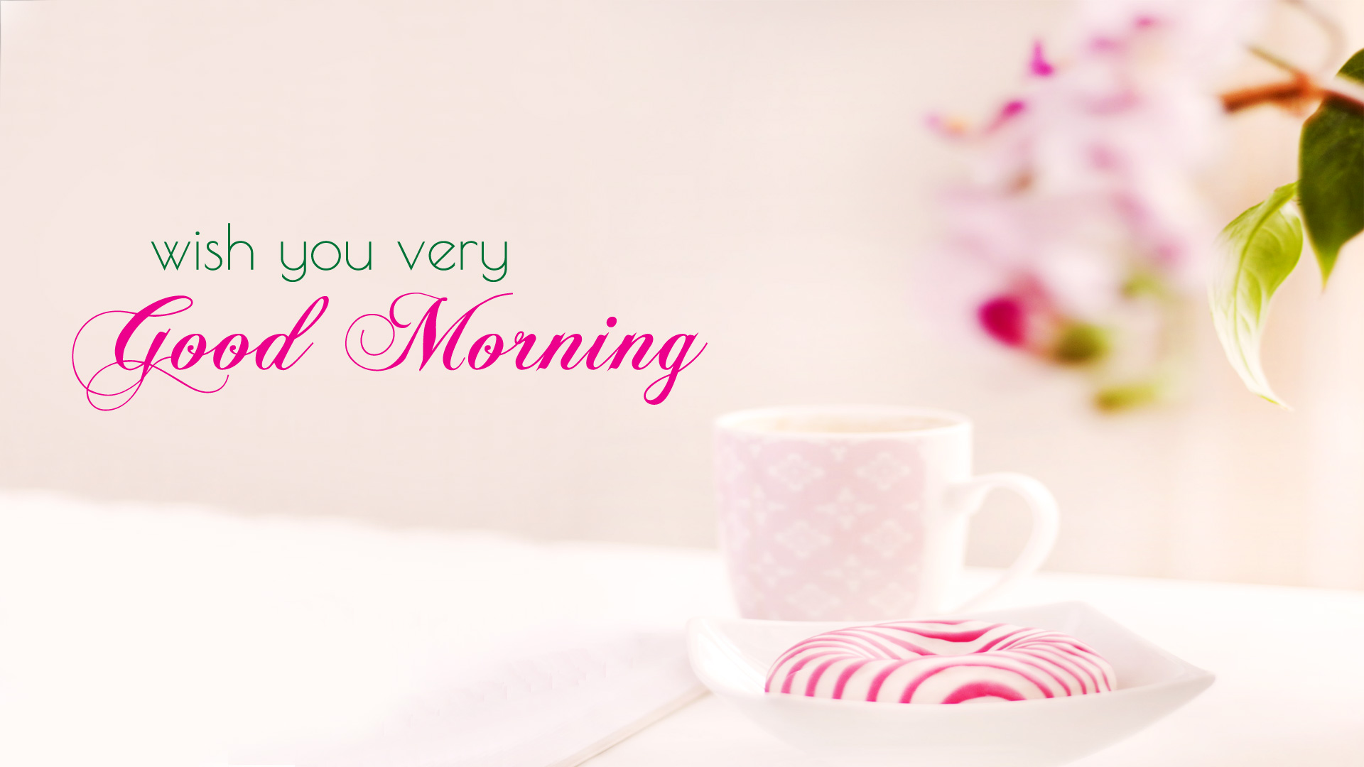 good morning wallpaper with