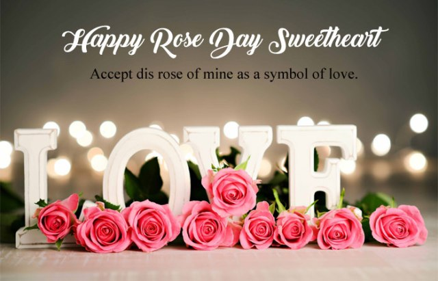 Happy Rose Day My Love 1 - 7th Feb Happy Rose Day Images with Shayari