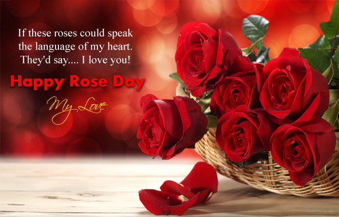 I Love You Rose Day Pics