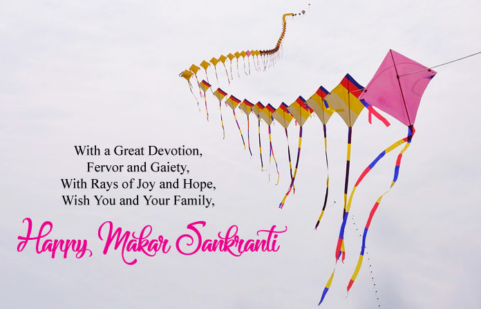 Makar Sankranti Messages in English