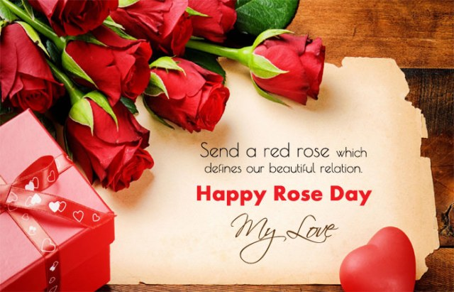Rose Day Love Photos on Relationship - 7th Feb Happy Rose Day Images with Shayari