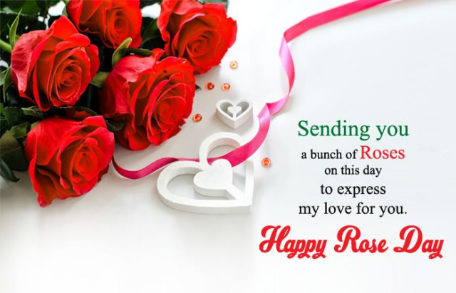 Rose Images with Love Messages - 7th Feb Happy Rose Day Images with Shayari