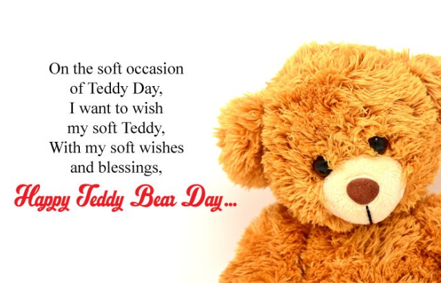 10th Feb Teddy Bear Day Pictures - Cute Happy Teddy Day Images for Whatsapp