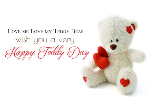 Cute Teddy Bear Day Images - Cute Happy Teddy Day Images for Whatsapp