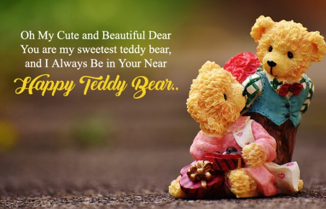 Happy Teddy Bear Day Images - Cute Happy Teddy Day Images for Whatsapp