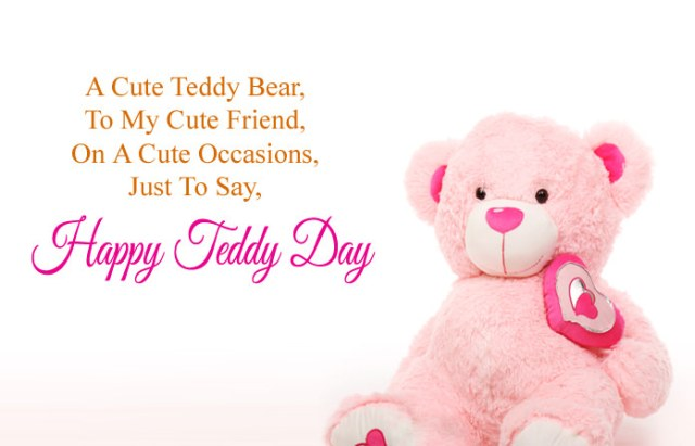 Happy Teddy Day Images - Cute Happy Teddy Day Images for Whatsapp